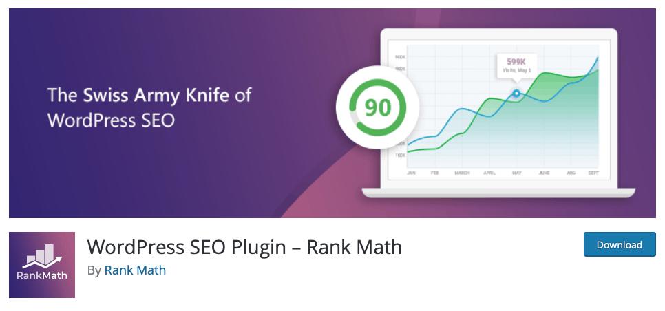 WordPress SEO Plugin – Rank Math